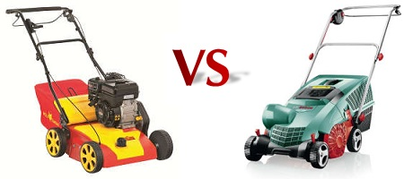 Benzin oder Elektro - Welcher Vertikutierer ist besser
